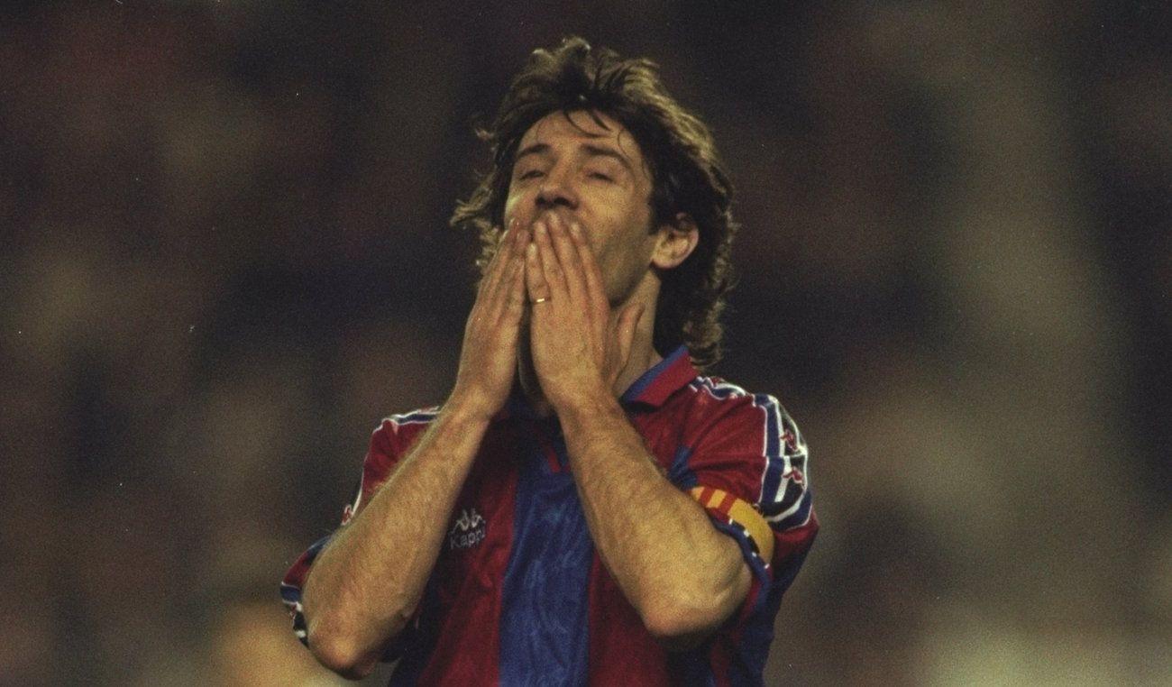 El día que Bakero dejó al Barça y llegó a Veracruz - ESPN Deportes