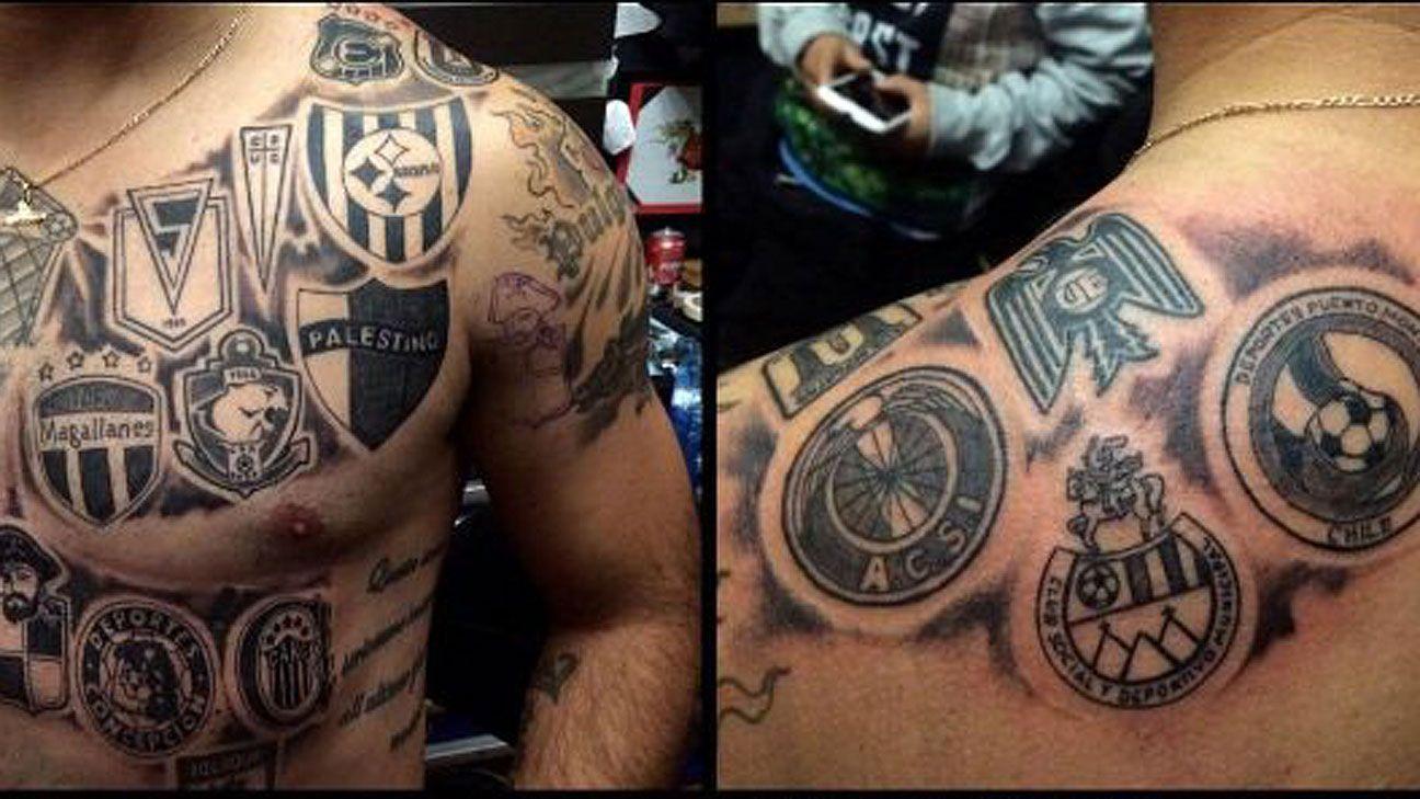 Leo Monje Tiene Tatuado Todos Los Equipos En Los Que Jugo