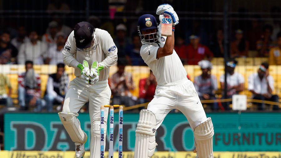 'Struggling' Rahane passes short-ball test