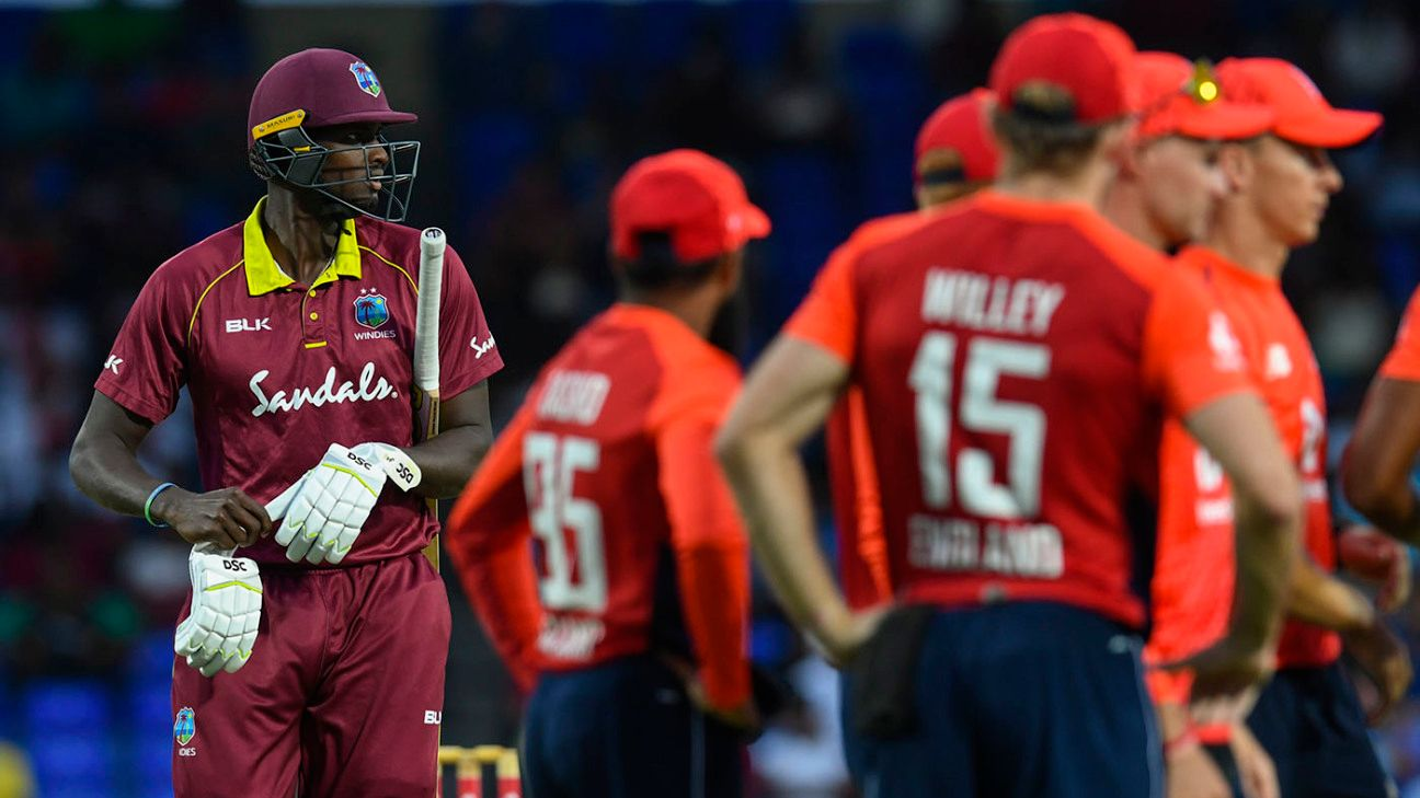 Disappointed but 'not too disheartened' by T20I results - Jason Holder