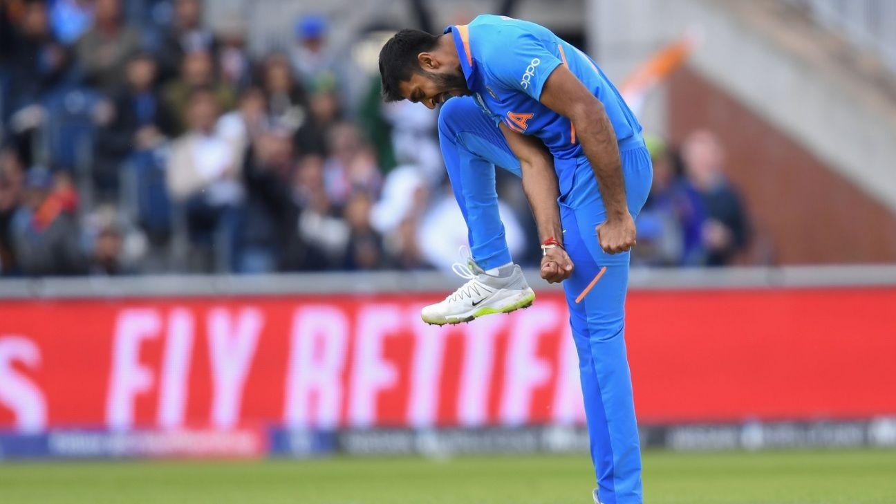 Vijay Shankar hit by Jasprit Bumrah yorker, team says he's fit