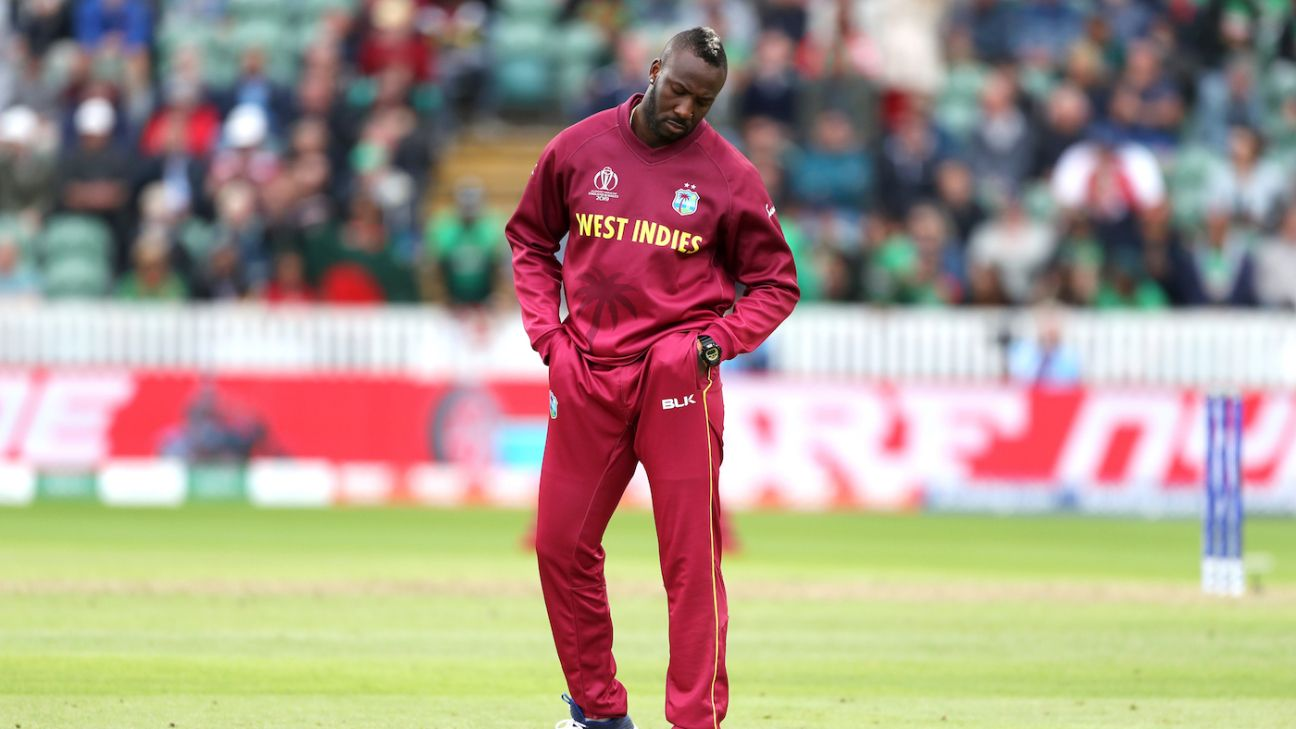 West Indies gambled on Russell's knees and it hasn't worked