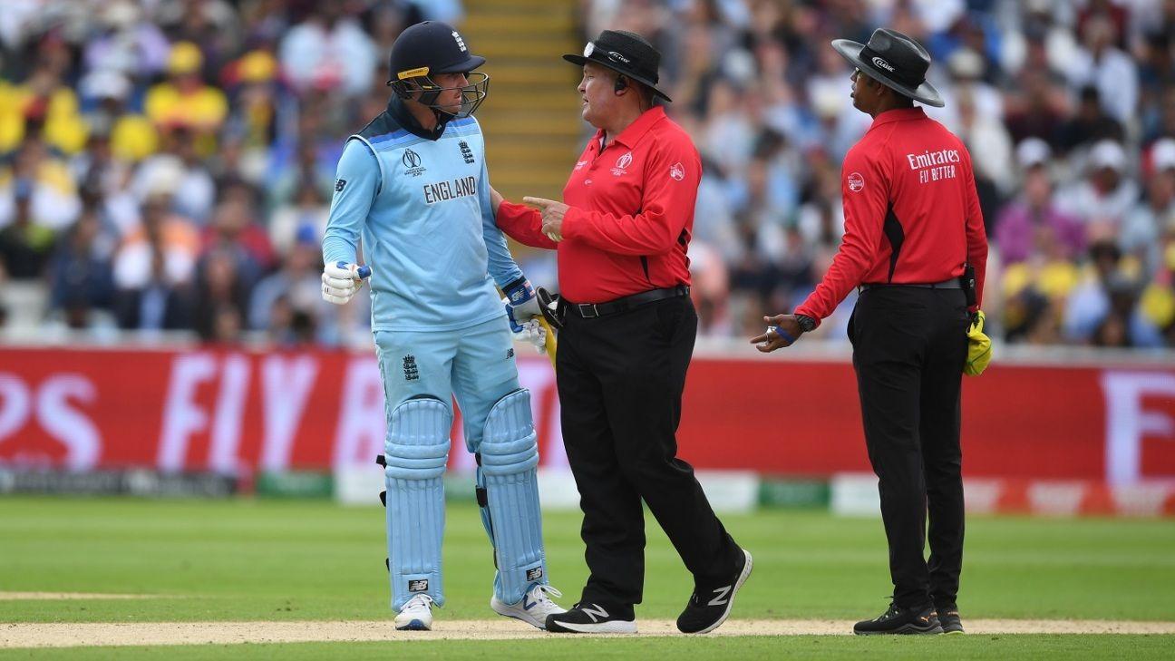 Jason Roy avoids suspension after outburst against umpires