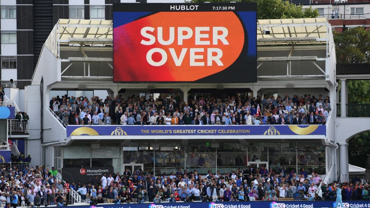 No more boundary countback as ICC change super over regulations