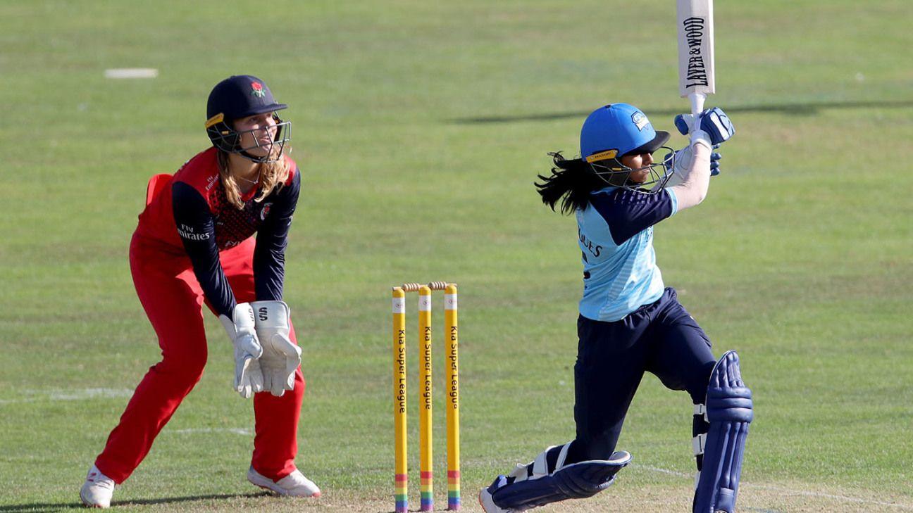 Deepti, Rodrigues take the lead as Indians sparkle at Kia Super League