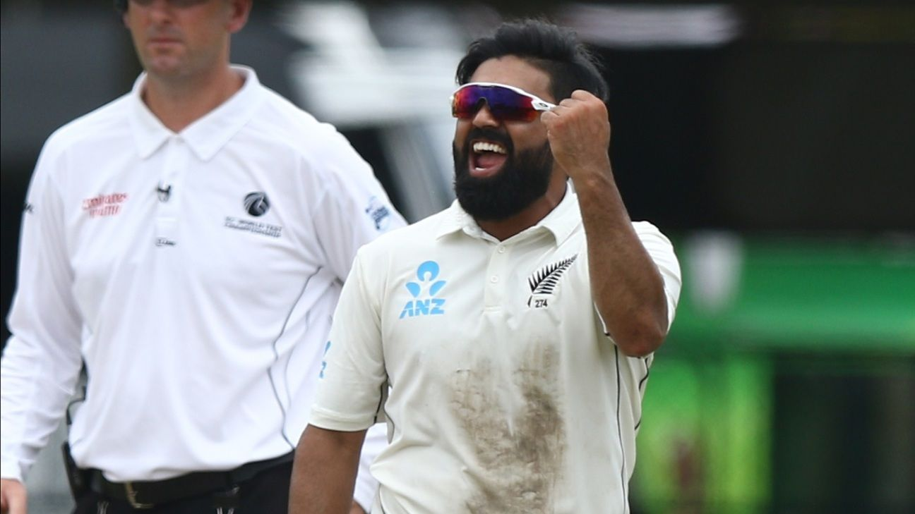 Trent Boult, Ajaz Patel and Kyle Jamieson named for India series