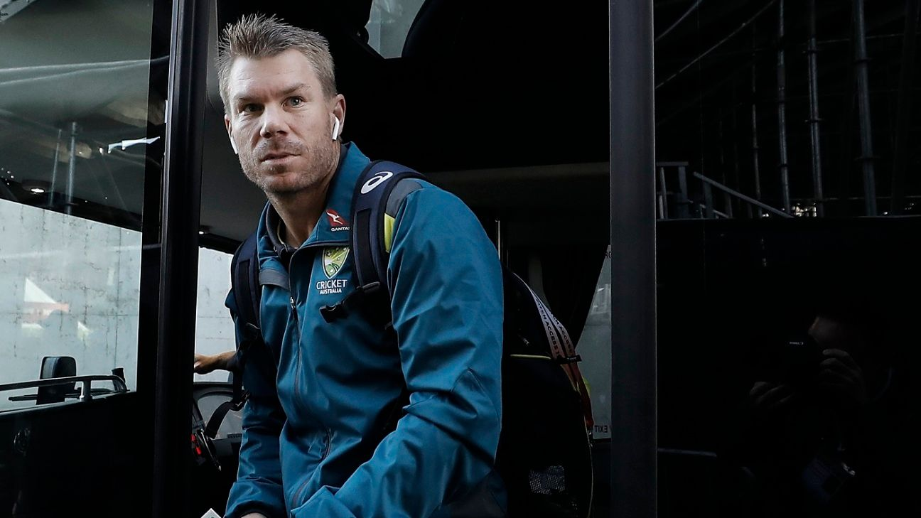 David Warner has 'enough credits in the bank' to keep opening spot against Pakistan - Tim Paine