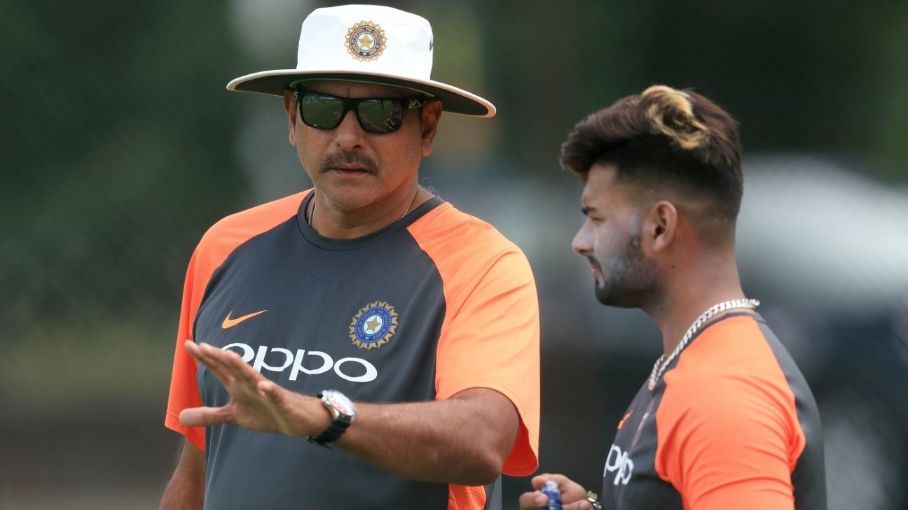 Pant's shot selection has let the team down sometimes - Shastri