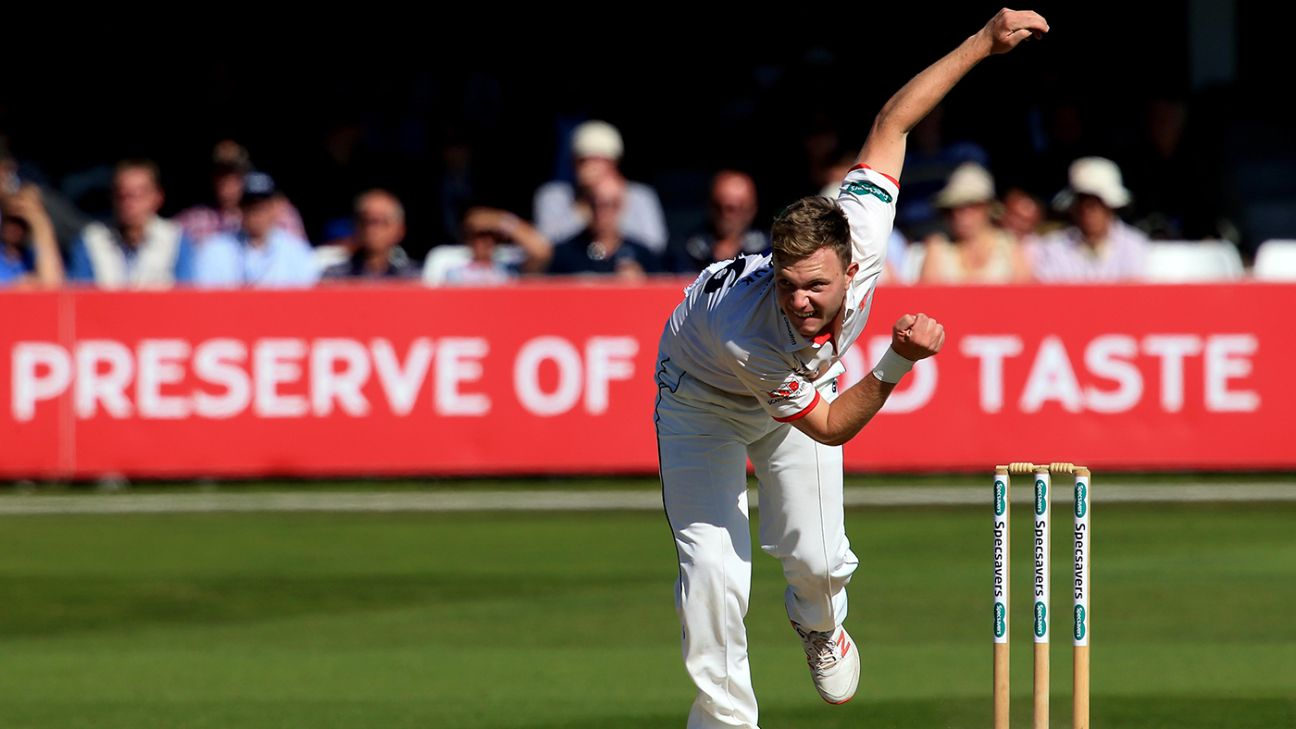 England Lions call up Essex seamer Sam Cook as injury cover