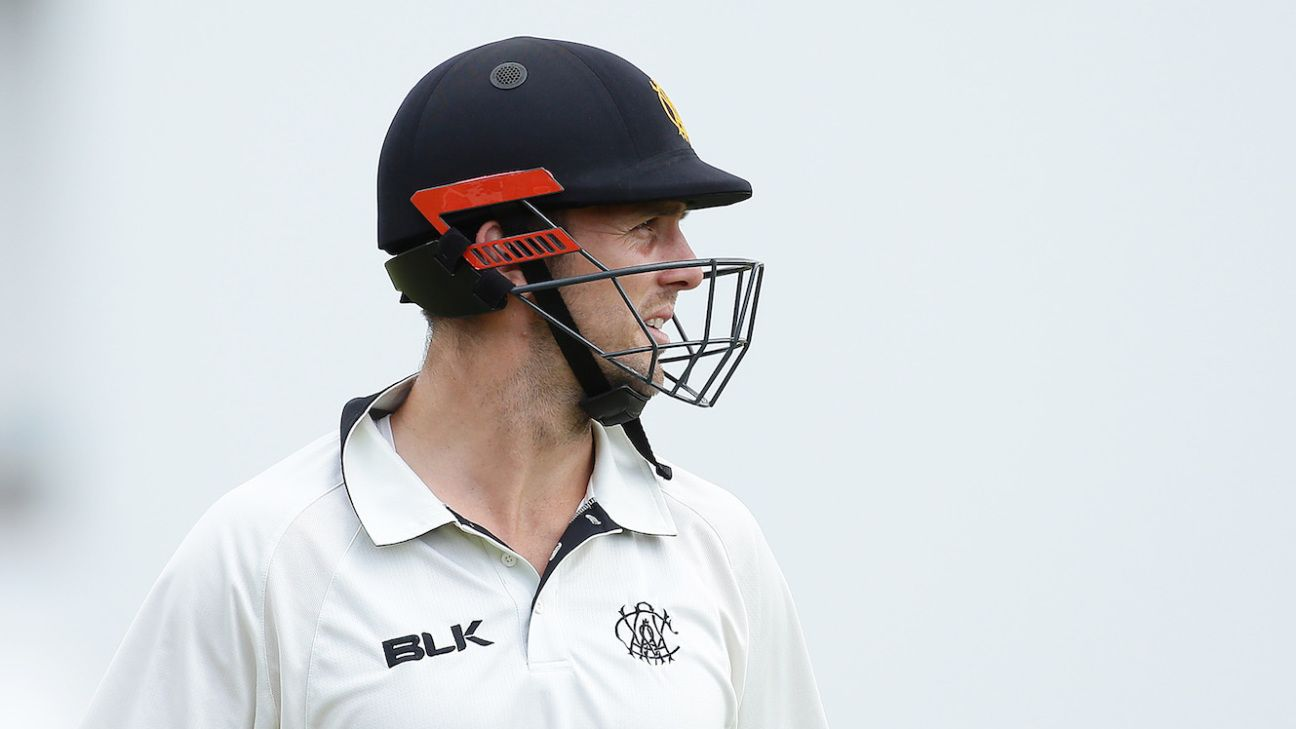 Mitchell Marsh faces losing Test spot after suffering broken hand from punching wall