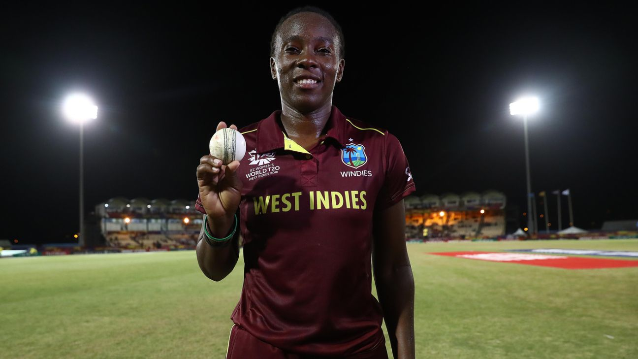 Shakera Selman returns to West Indies squad for T20I series against India