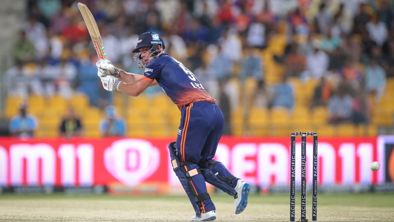 Chris Lynn narrowly misses out on becoming first Abu Dhabi T10 centurion