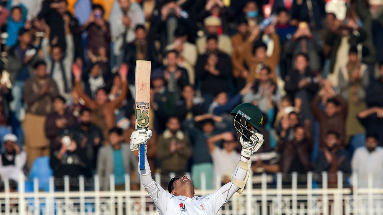 Abid Ali and Babar Azam give Pakistan the day they were waiting for