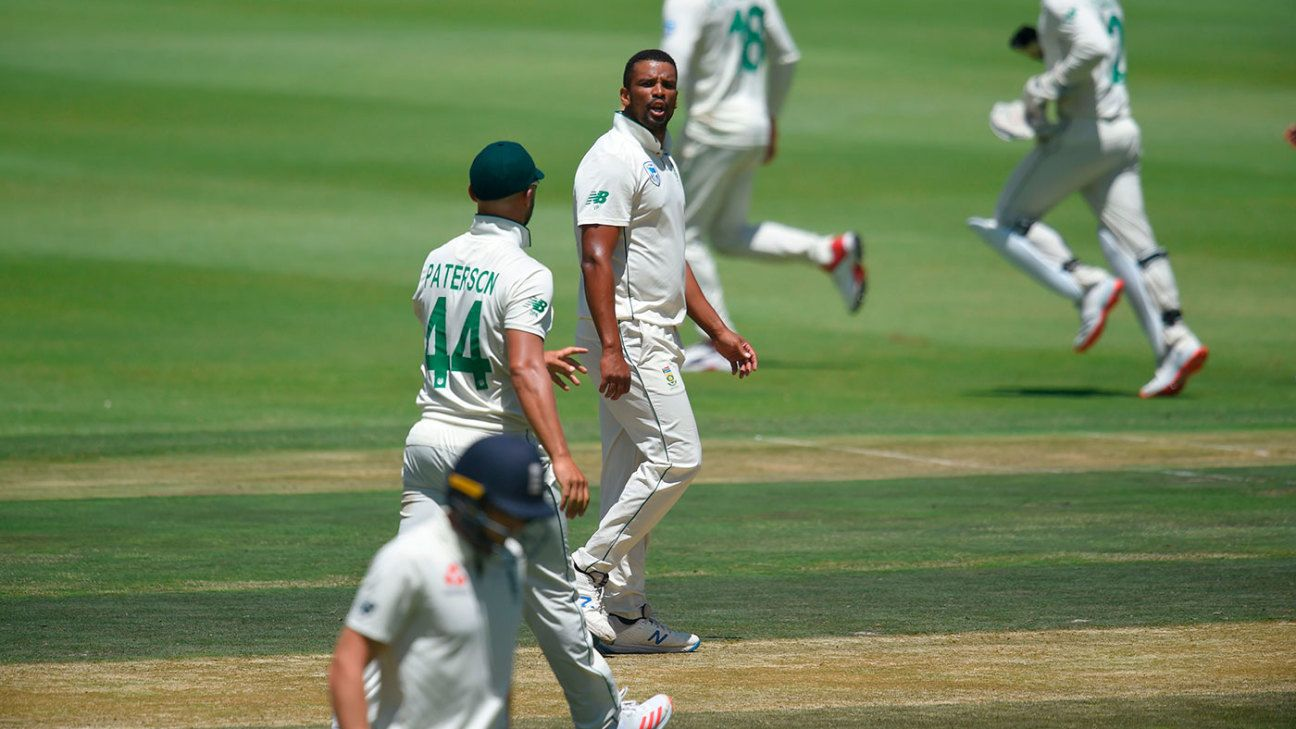 Vernon Philander fined and handed demerit point for Jos Buttler send-off | ESPNcricinfo.com - ESPNcricinfo