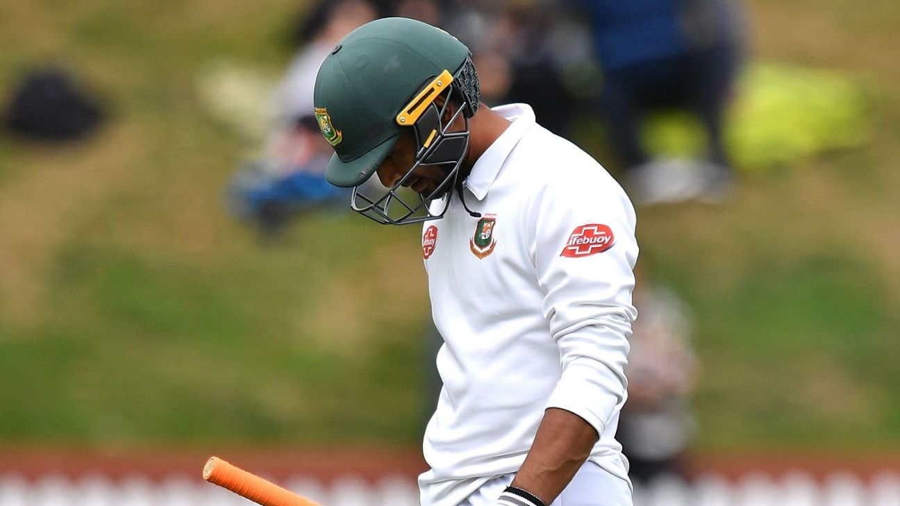 Mahmudullah dropped, Mushfiqur Rahim back for Zimbabwe Test