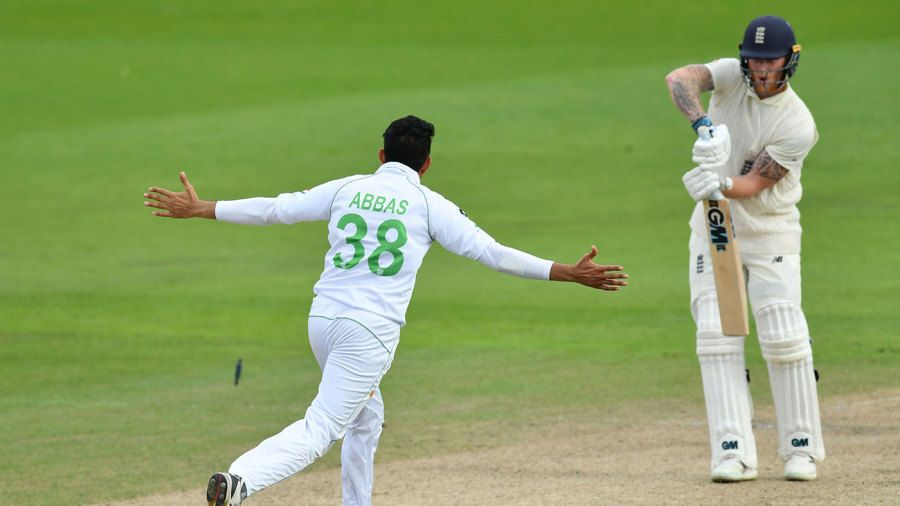 No, no way! You cannot do that, Mohammad Abbas! | ESPN.co.uk