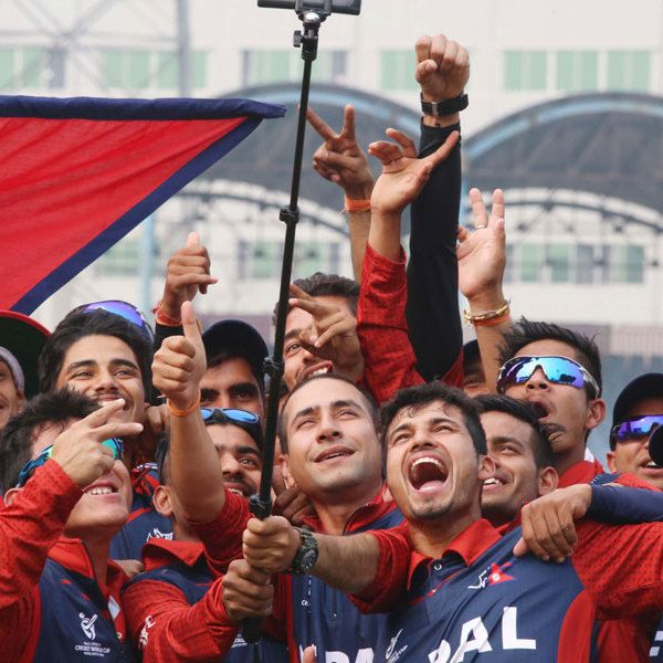 Nepal Revel In Dravid Pat After 'biggest Win'