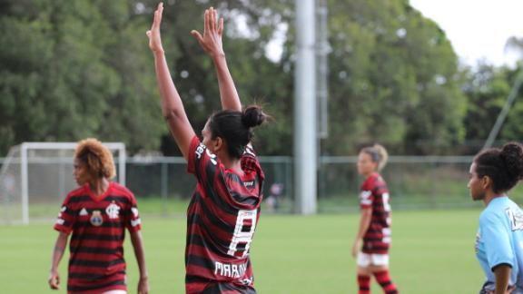 INSÓLITO! Flamengo femenino goleó 56-0 a Gremio - ESPN Video
