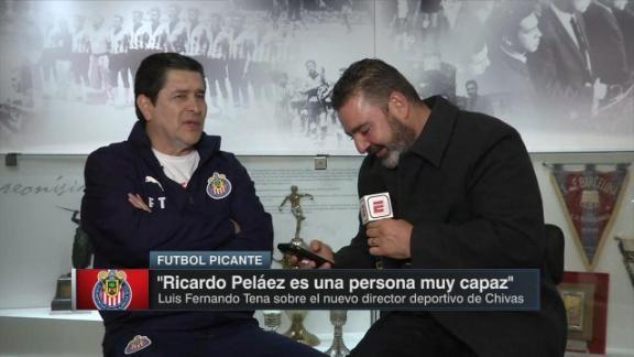 Luis Fernando Tena define en una palabra a Ricardo Peláez - ESPN