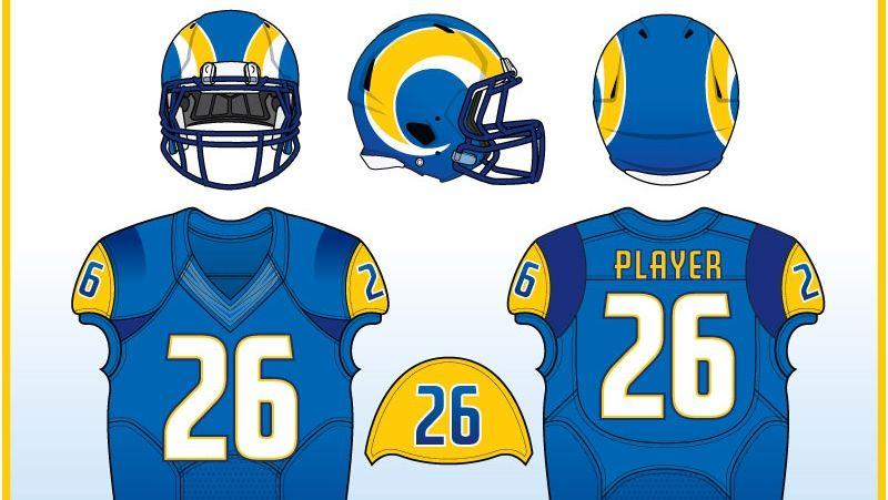 Uni Watch  Redesigning the Rams  uniforms - ESPN Video b320c7007