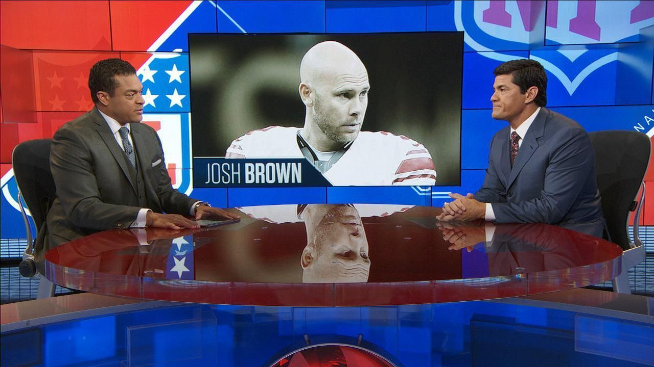 Giants kicker Josh Brown put on commissioner's exempt list