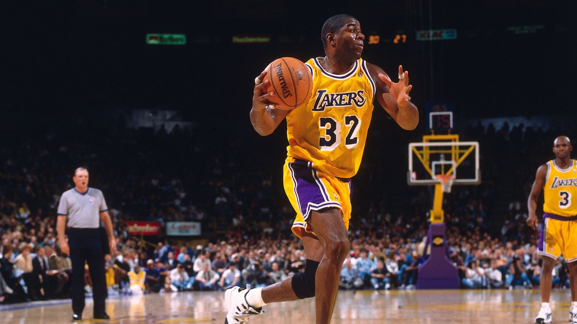 On this date: Magic Johnson comes out of retirement - ESPN ...
