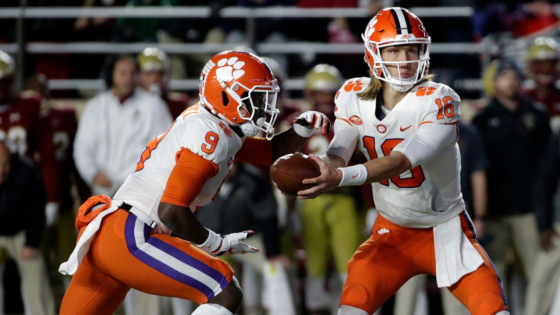 Clemson on top of Boston College at the half - ESPN Video