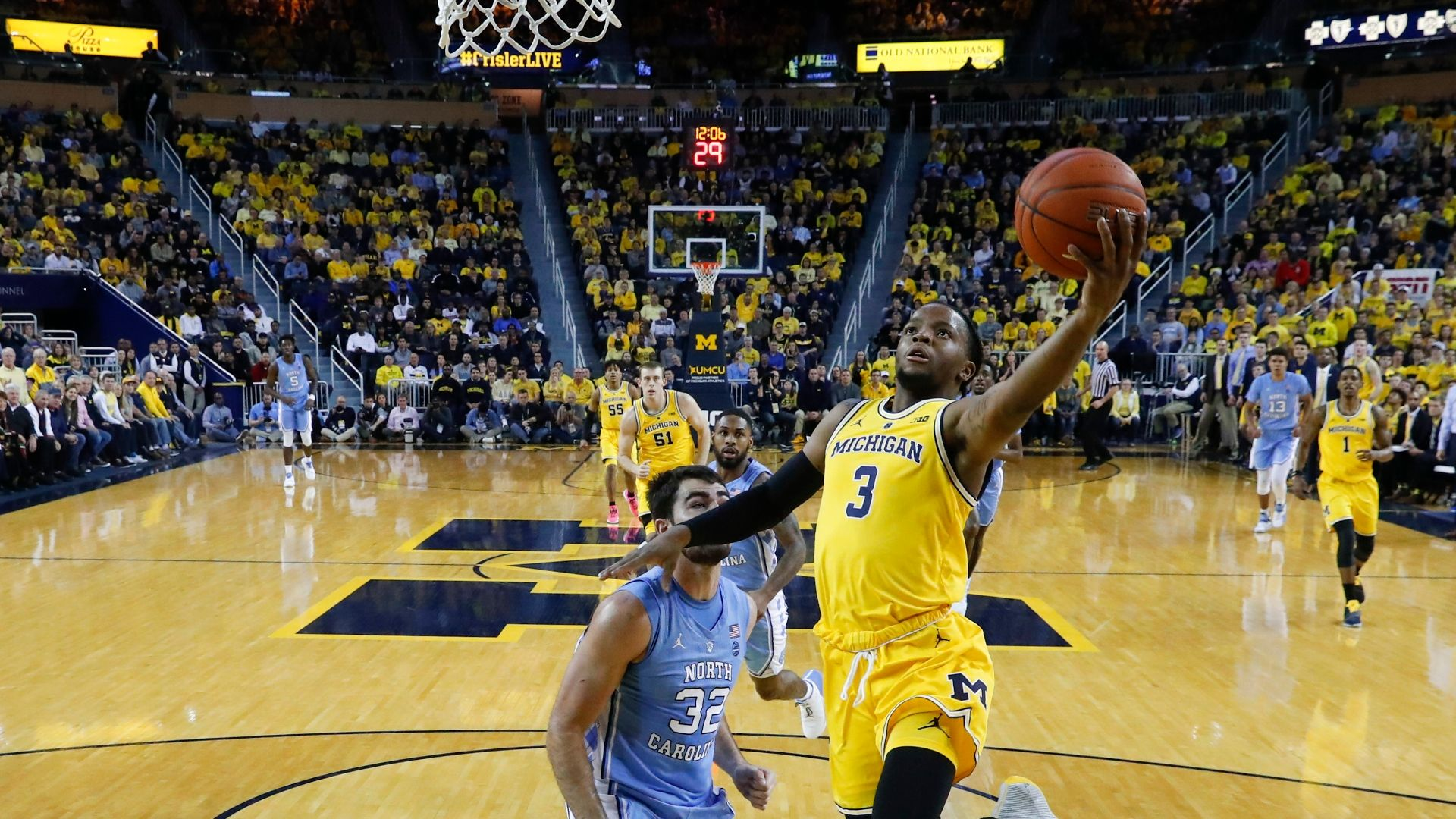 Michigan Trounces Unc To Stay Unbeaten Espn Video