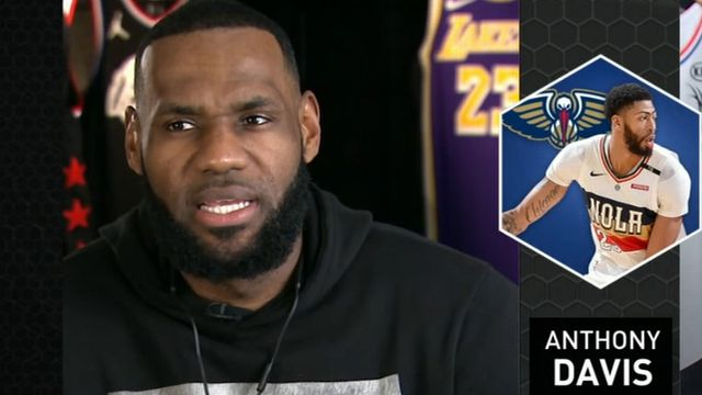 LeBron James chooses Kevin Durant with first All-Star draft pick
