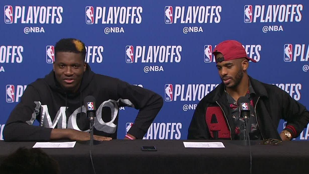 Rockets' Capela: Warriors rematch 'what I want'