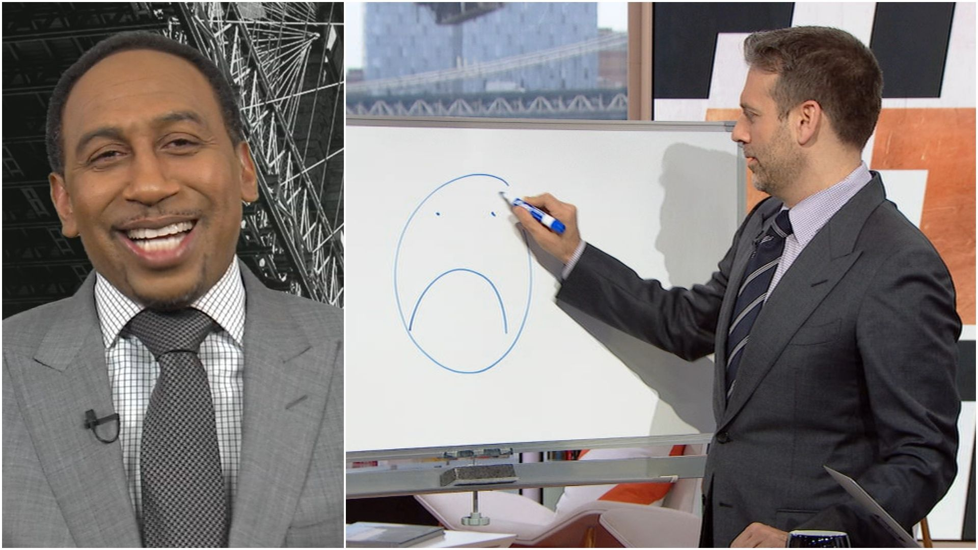 Stephen A. gets math lesson on Rockets' odds from Max