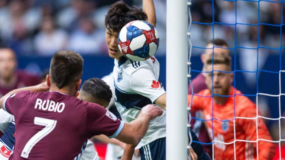 Rubio heads in the opener for Colorado