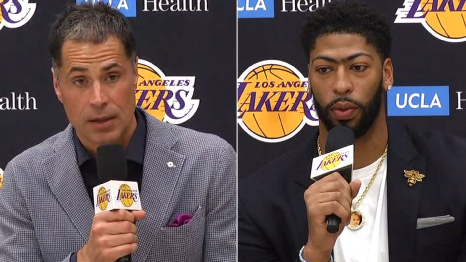 AD would put Lakers' roster 'up against anybody'
