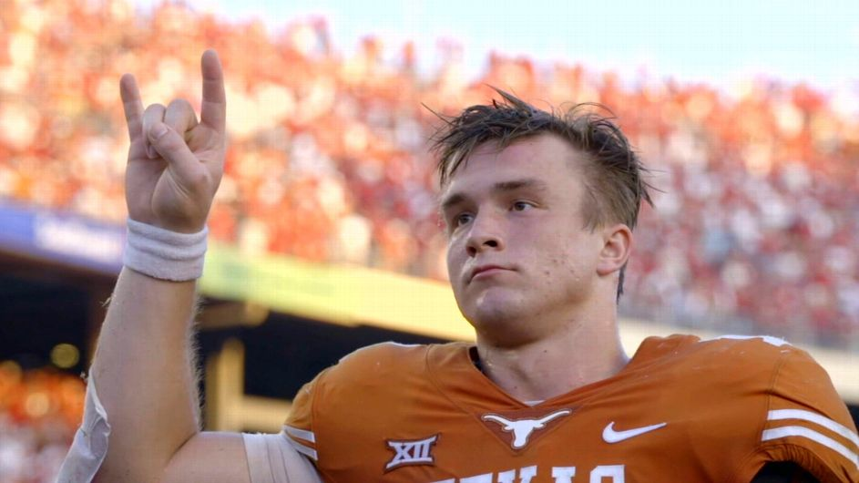 Ehlinger: I wanted to be part of making Texas title contenders again - ESPN Video
