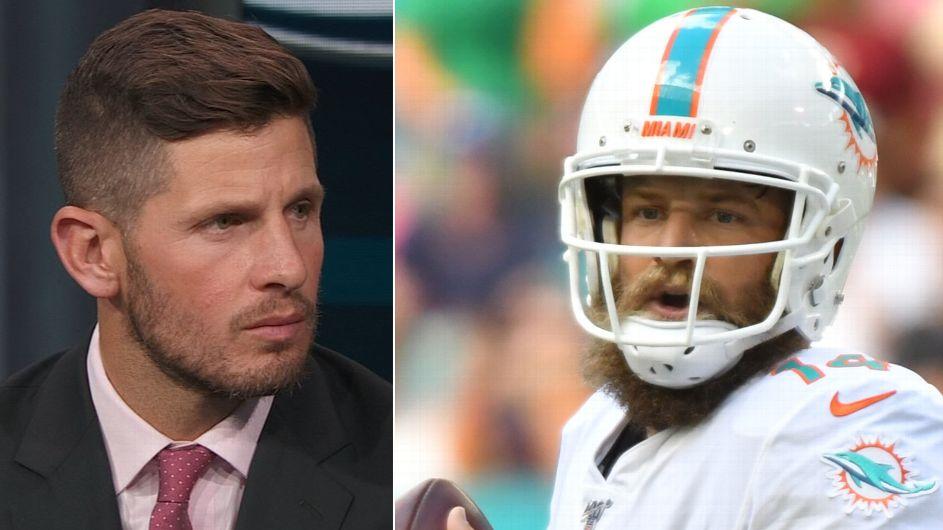 Ryan Fitzpatrick returning as Dolphins' starting quarterback