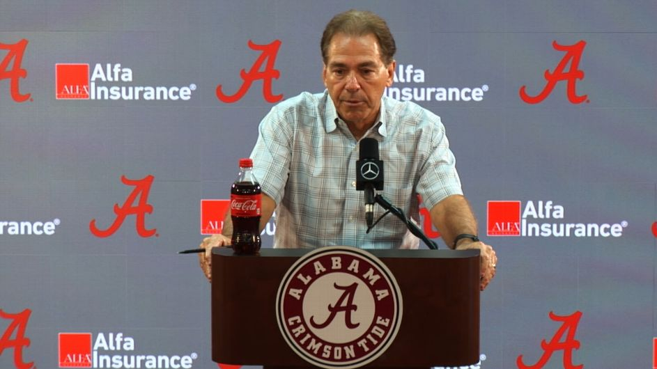 Nick Saban: There's 'no real timeline' for Tua Tagovailoa's return from ankle injury