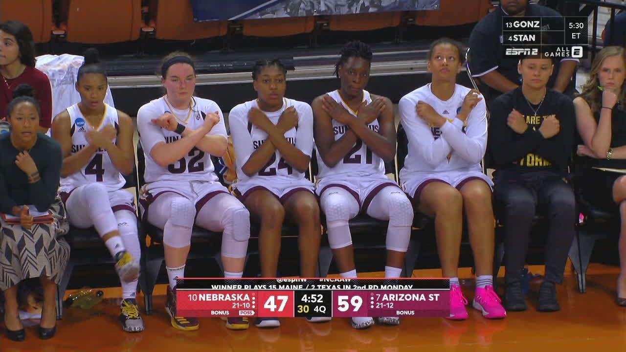 a88735bd6 Arizona State bench has a 'Wakanda' themed celebration - ESPN Video