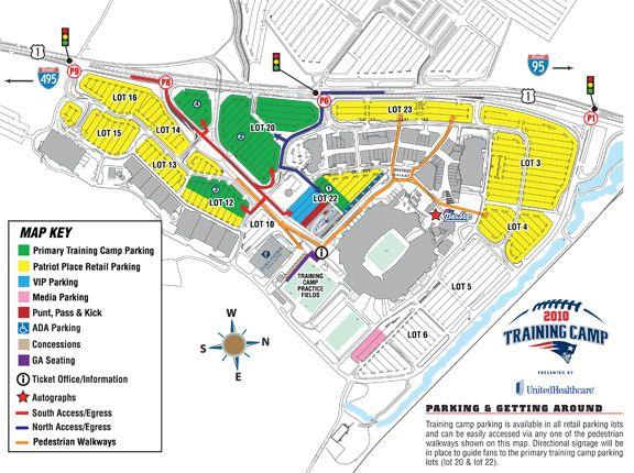 New England Patriots training camp guide