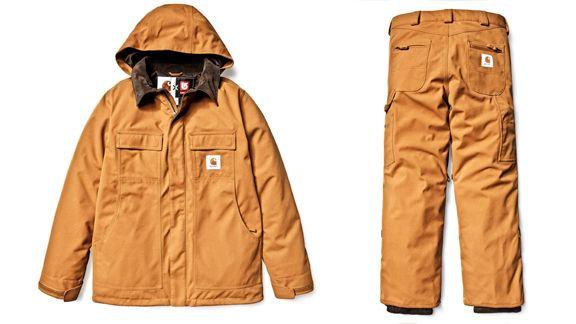 87de984b63 GEAR: Burton X Carhartt WIP snowboard outerwear