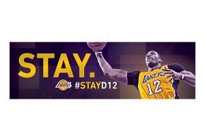 Signs ask Dwight Howard to 'Stay'