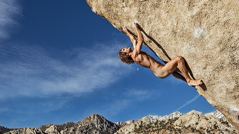 Rock Climber Chris Sharma Undresses In The 2013 Body Issue - Espn The Magazine-6928