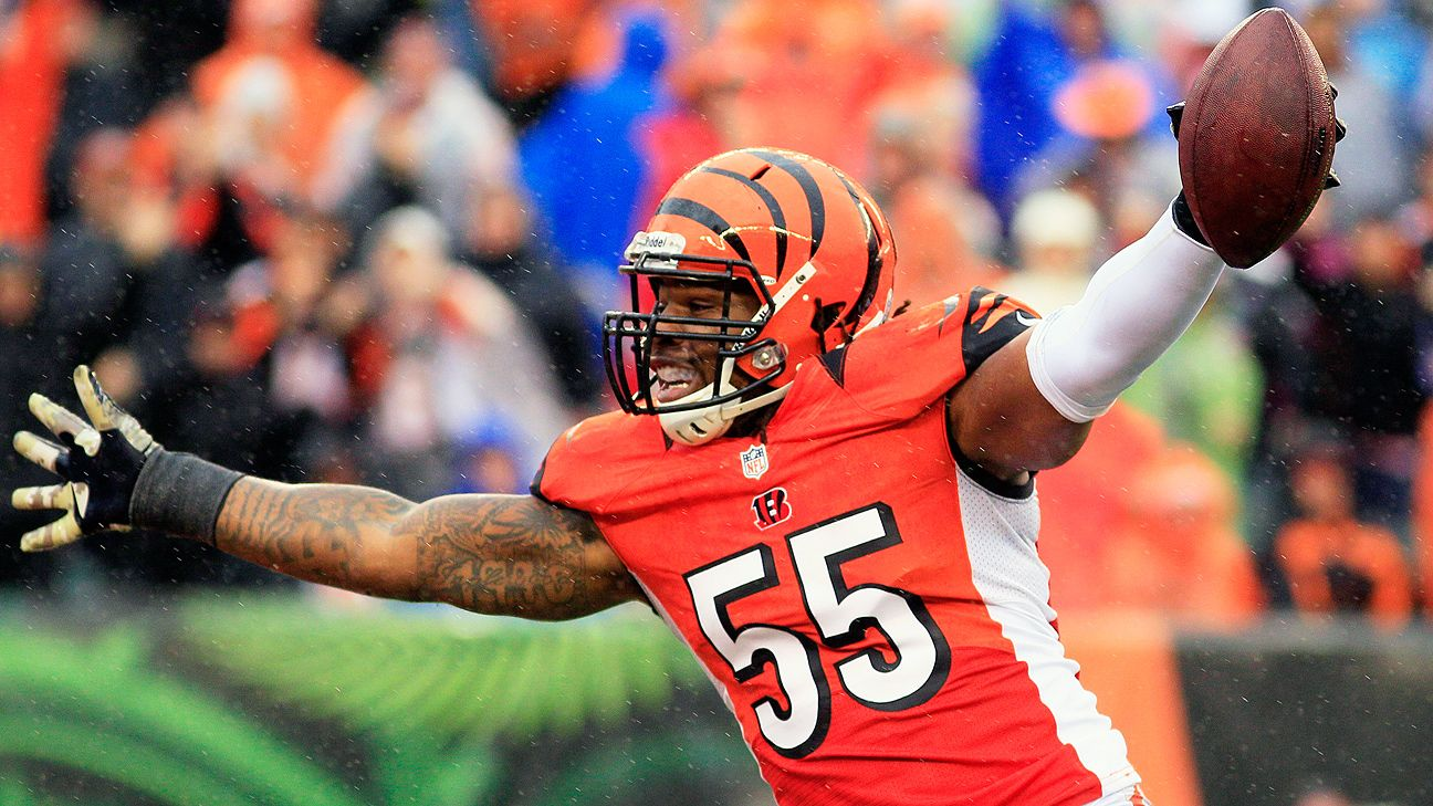 The Raiders signed former Bengals linebacker Vontaze Burfict to a one-year deal, a day after he was released by Cincinnati.