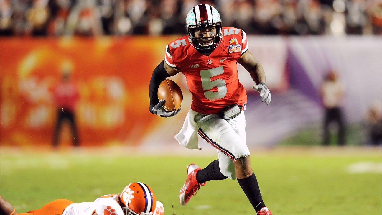 736ff500ab5 Braxton Miller of Ohio State Buckeyes to miss season due to shoulder injury
