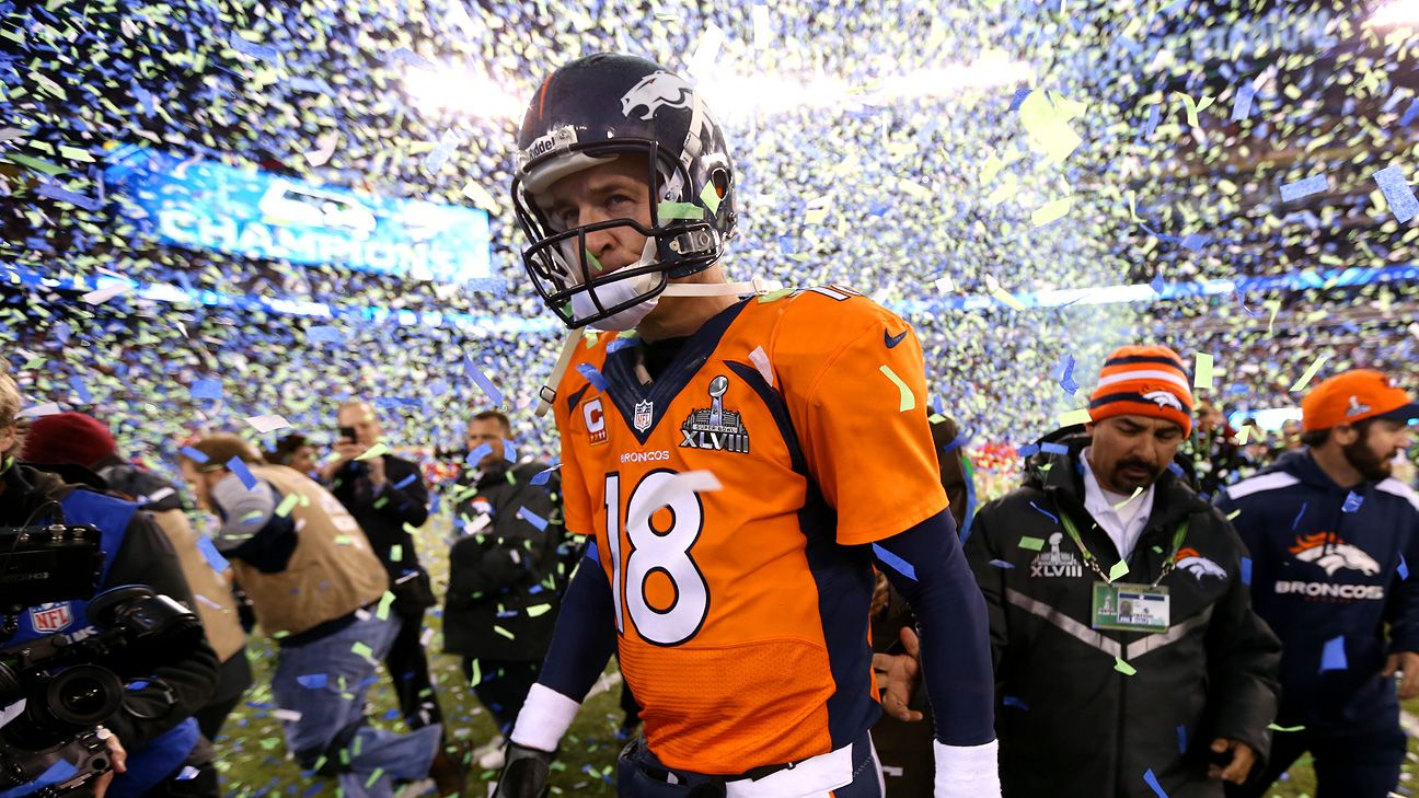 reputable site d7bf8 0c52a Super Bowl XLVIII -- Peyton Manning says 'embarrassing' is ...
