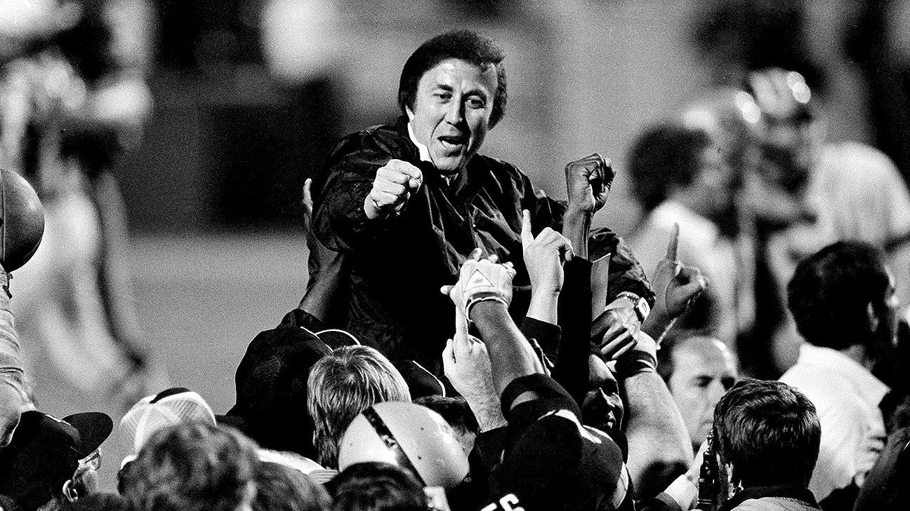 Tom Flores coached two Super Bowls with the Raiders, becoming the first minority head coach to earn the Lombardi Trophy.