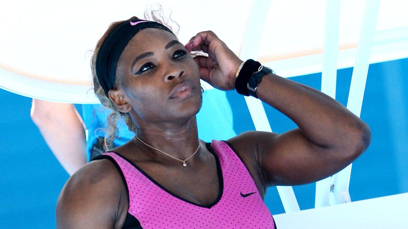 Serena Williams: Practice is boring