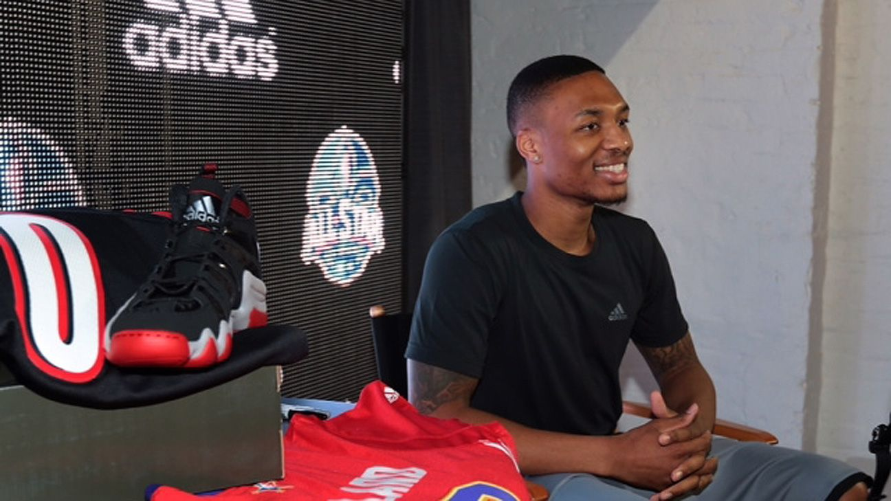 Damian Lillard s new adidas deal may be worth up to  100M 29a3a9fc2