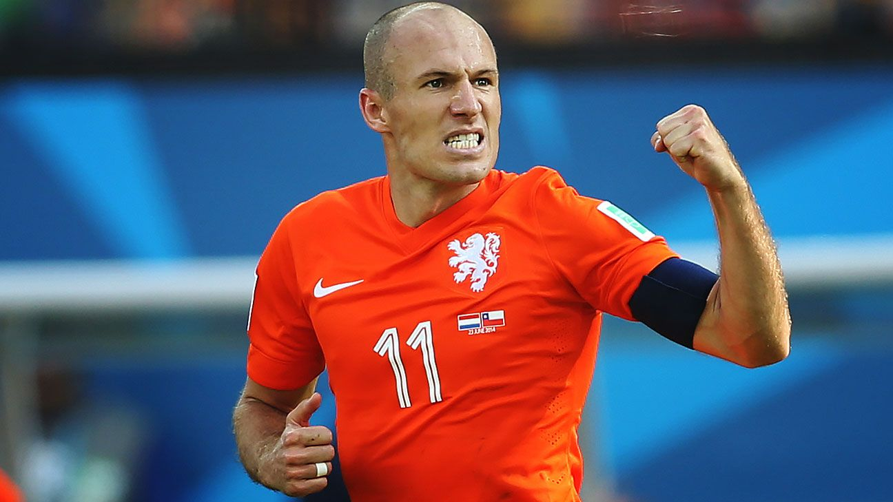 Robben has no plans to quit Netherlands