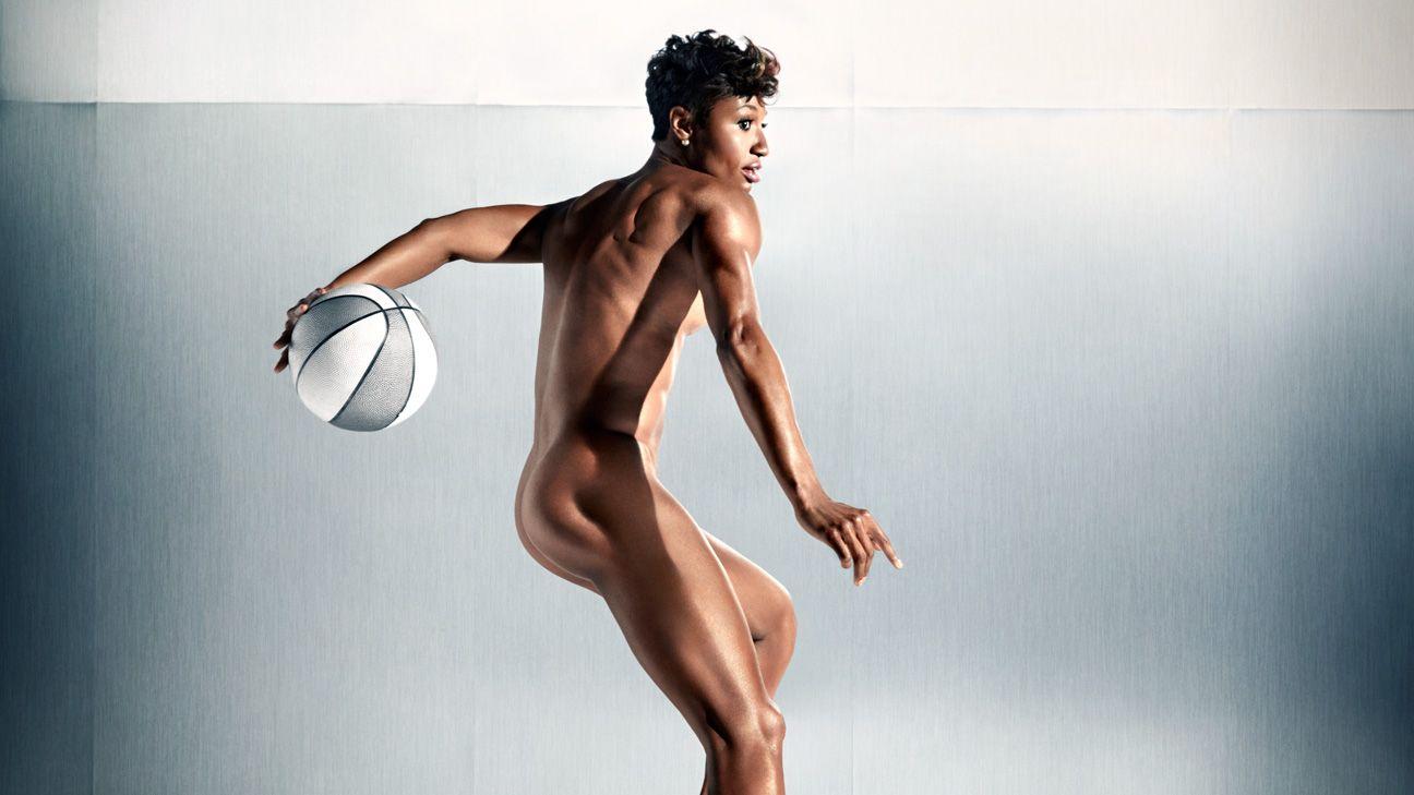 Girls Play Basketball Naked