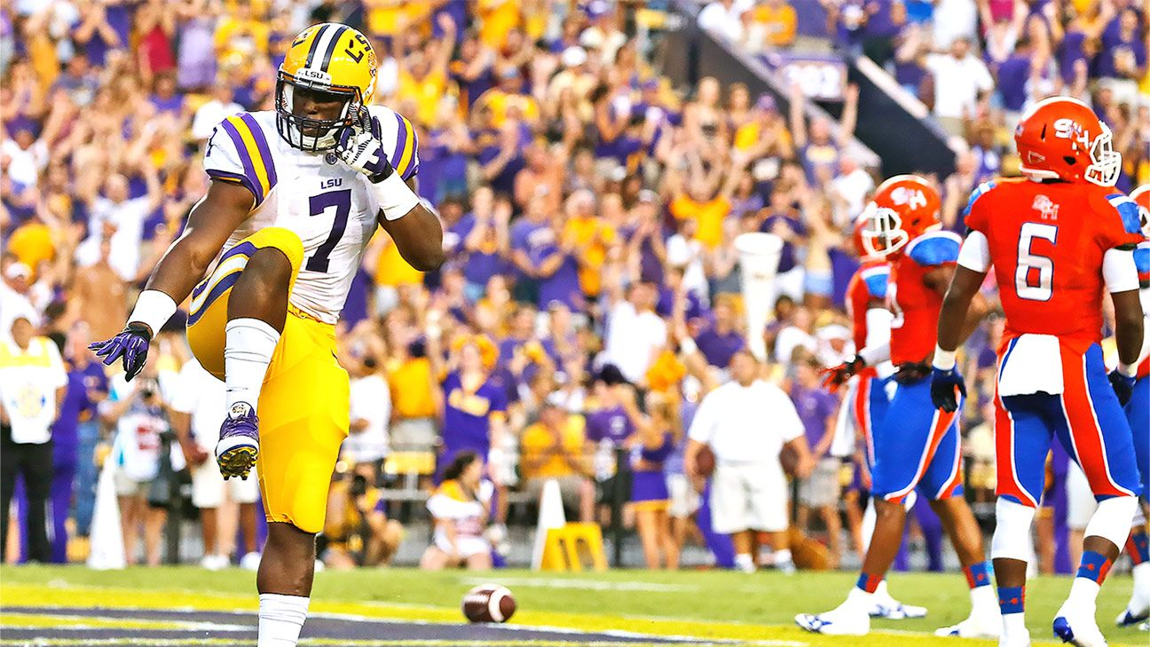 Looking Back Over Lsu Running Back Leonard Fournettes Greatest Hits